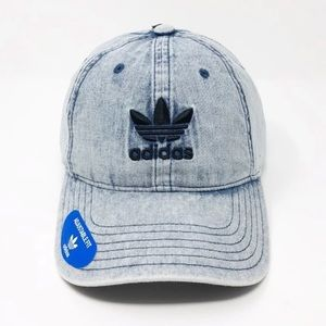 NWT! adidas Originals Men's Strapback Denim Hat